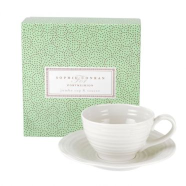 Sophie Conran jumbo cup and saucer