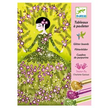 Glittery Dresses Craft Kit