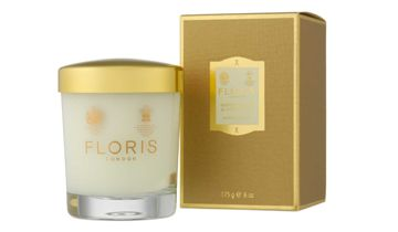 Floris Sandalwood & Patchouli Scented Candle