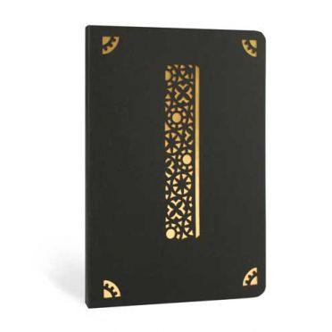 Monogram Gold Foil Notebook - I