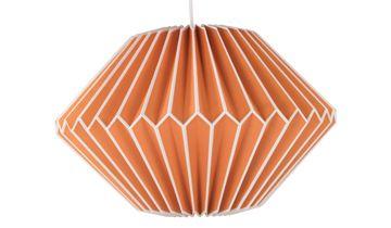 Paper Pendant Lampshade - Orange