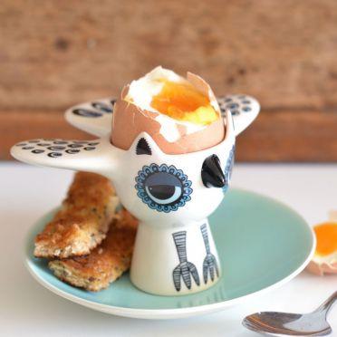 Hannah Turner Egg Cup Blue