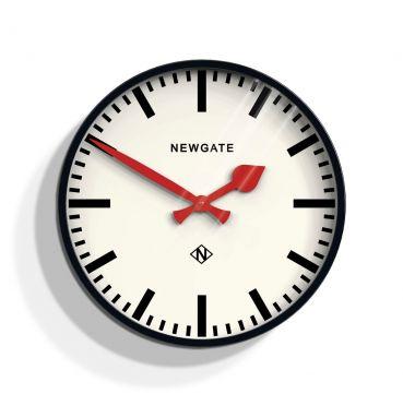 Newgate Putney Clock Black