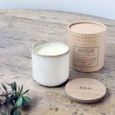 Jasmine & Magnolia Scented Soy Candle