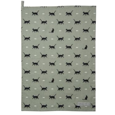 Sophie Allport Tea Towel - Cat