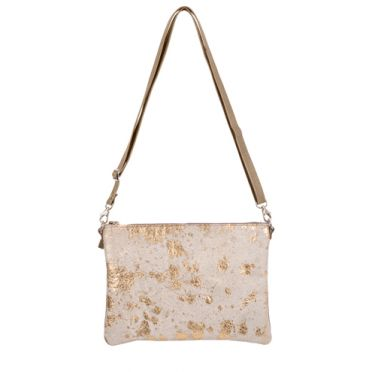 Thurston Handbag in Gold Acido