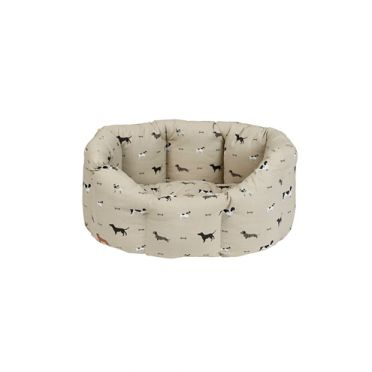 Sophie Allport Small Woof Dog Bed